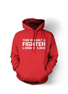 THIS IS WHAT A FIGHTER MMA Muay Thai Boxing Hoodie