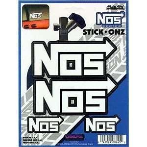 NOS White Stick Onz Decal: Automotive