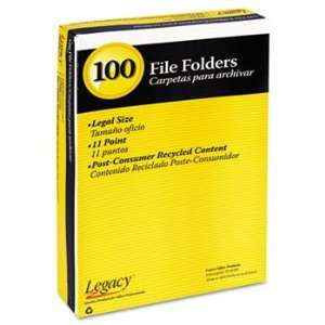 Legacy 10141   Colored File Folder, 1/3 Tab, Assorted