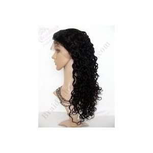 Long Deep Wave Full Lace Wig: Beauty