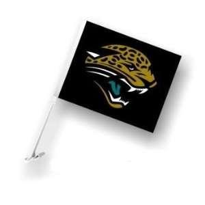 Jacksonville Jags Jaguars Car/Truck Window Flag Sports
