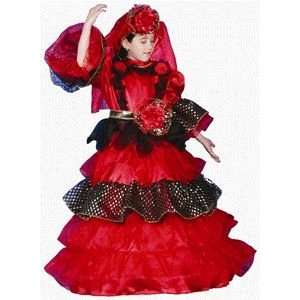 Deluxe Dress Child Costume Dress Up Set Size 16 18 Toys & Games