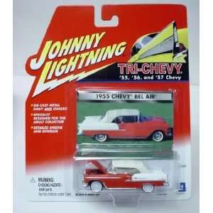 JOHNNY LIGHTNING TRI CHEVY 1955 CHEVY BEL AIR: Everything Else