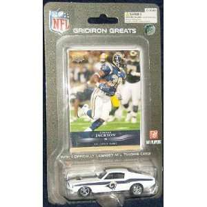 St. Louis Rams 1967 Mustang Fastback with Steven Jackson trading card