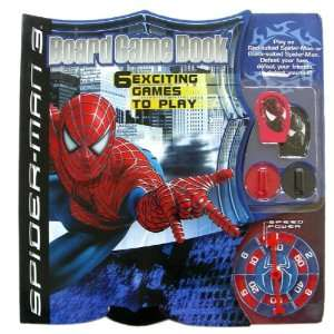 Spiderman Board Game Book   Spider Man Board Game Book Toys & Games