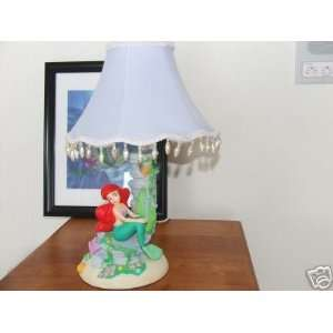 New Little Mermaid Girl Bedroom Disney Table Lamp Night