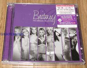 BRITNEY SPEARS The Singles Collection KOREA CD + DVD SE
