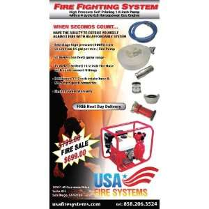 High Pressure Fire Fighting System Gas Engine New: Electronics
