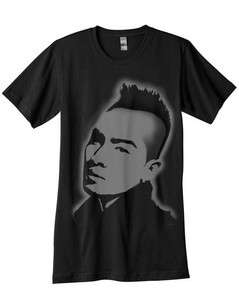 Taeyang Shirt Airbrushed with stencils kpop