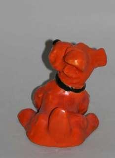 LOVELY GOLDSCHEIDER ART CERAMIC FOX TERRIER DOG 1930
