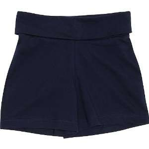 Mj Soffe Yoga Roll Top Short Girls: Sports & Outdoors