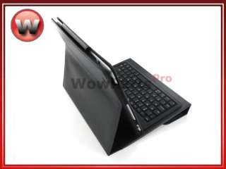 Wireless Bluetooth Keyboard Leather Case for iPad 1/2