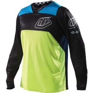 /Off Road/Dirt Bike Motorcycle Jersey   Yellow / Large Automotive