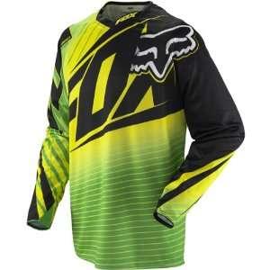 Road/Dirt Bike Motorcycle Jersey   Green/Yellow / X Large Automotive