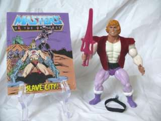 He Man Prince Adam 100% w Slave City mini comic Masters of the
