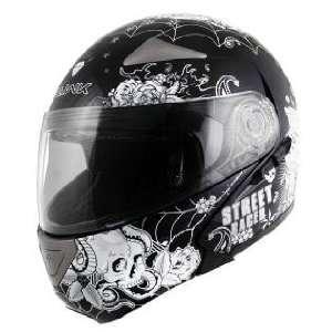 Hawk GLD 900 Vato Loco Motorcycle Helmet Sz L Sports