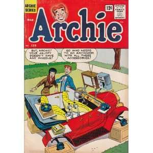 Comics   Archie #135 Comic Book (Mar 1963) Very Good