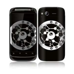 Illusions Design Decorative Skin Cover Decal Sticker for HTC Desire S