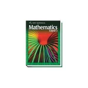 Holt mathematics course 3 homework help