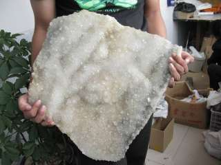 BIG!!! NATURAL TIBETAN CLEAR QUARTZ CRYSTAL CLUSTER AWESOME FORM