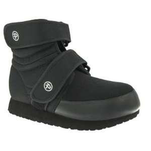 Pedors 600H_M Mens High Top Boot in Black Baby