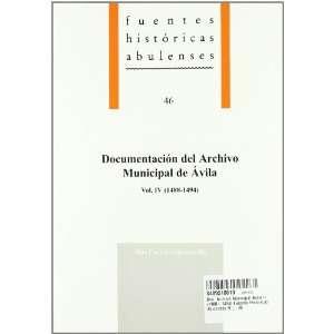 Doc. Archivo Municipal Avila iv (1488 1494) Fuentes