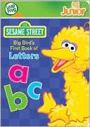 LeapFrog Tag Junior Sesame Street Big Birds First Book of Letters