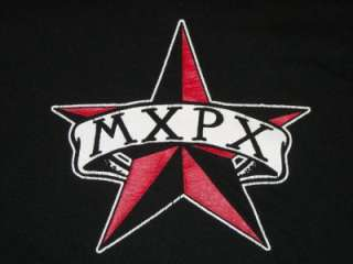 MXPX T SHIRT retro punk indie vtg music