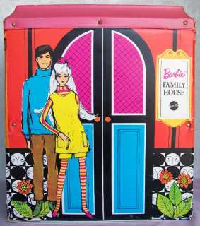 1968 BARBIE doll Family House   Vintage