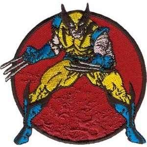 X Men Marvel Comic Wolverine Stance Iron On Patch P3360