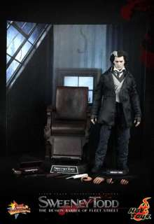 Hot Toys Sweeney Todd Demon Barber of Fleet Street
