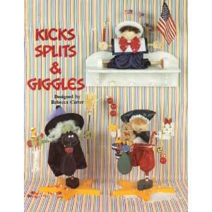, Splits & Giggles   Woodcraft Instructions: Rebecca Carter: Books