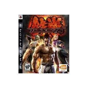 New Namco Bandai Games Amer Sdvg Tekken 6 Product Type Ps3 Game