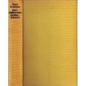 The Billion Dollar Sure Thing (9783492020510): Books