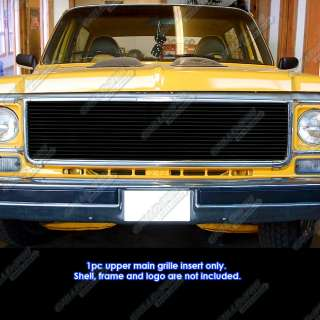73 80 Chevy GMC Blazer/C/K Pickup/Suburban Black Billet Grille Grill