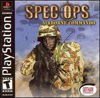Airborne Commando PS1 PS2 PLAYSTATION shooting 3D person combat game