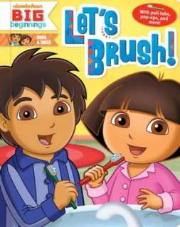 Lets Brush (Dora & Diego Series) by Molly Reisner