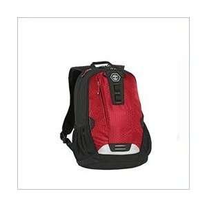 Asai Red Timberland Ace High Medium Laptop Backpack