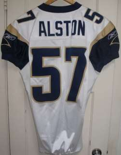 2006 St. Louis Rams JON ALSTON Game Used Worn NFL Football ROOKIE