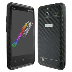 HTC Arrive Black Carbon Fiber Full Body Protection Skin