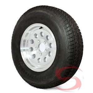 14 inch Aluminum Modular Wheel/Tire Combo 20575R14 (5 Lug