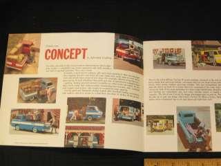 1961 Chevrolet Corvair 95 Truck Catalog Sales Brochure