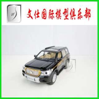 32 China Toyota Land Cruiser LC200 SUV(Black)Diecast pull back car