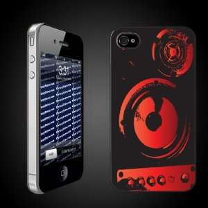 Musical Theme iPhone Case Designs Speaker Woofers Graphic