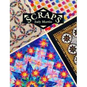 5613 Scraps Quilt Book by Judy Martin for Crosley Griffith