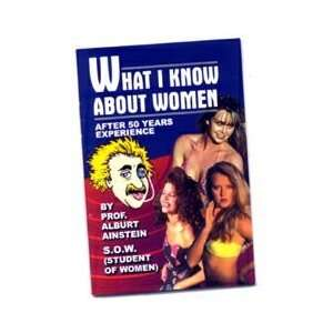 What I Know About WomenBlank Book