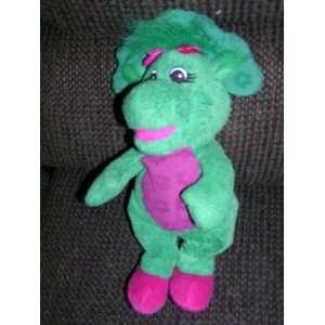 Barney the Dinosaur 12 Soft Plush Baby Bop Doll