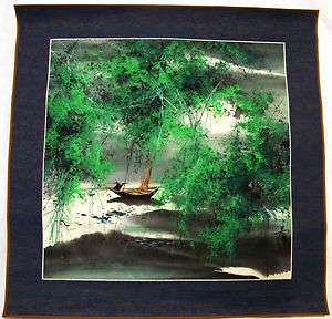 ESTATE SALE EARLY 20th CENTURY CHINESE SCROLL PAINTING LANDSCAPE