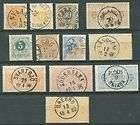 CESKOSLOVENSKO OLD STAMPS WITH PACK CANCELS GOOD VALUE
