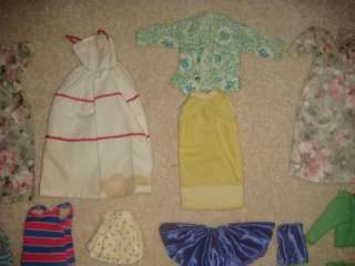 HUGE VINTAGE Lot BARBIE Doll Clothes Accessories Original & Handmade